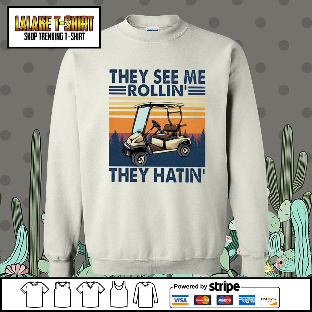They see me rollin' they hatin' vintage Sweater