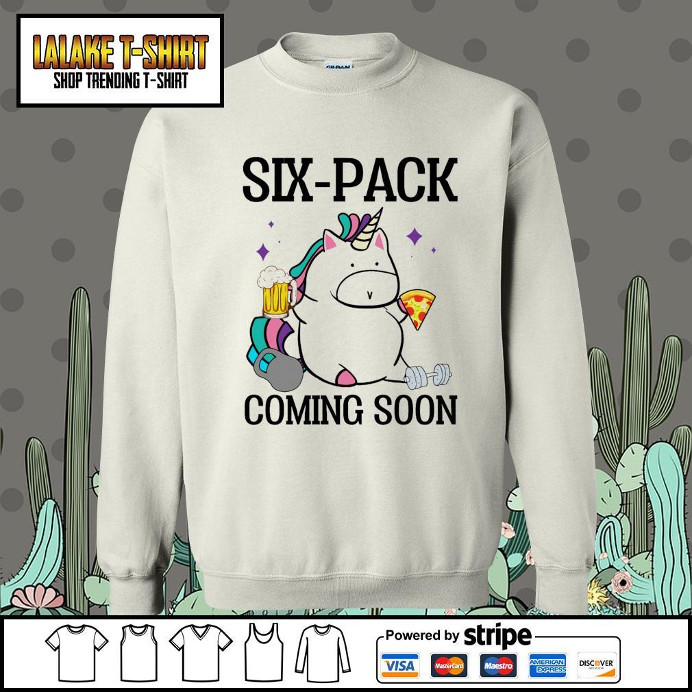 Unicorn six pack coming soon Sweater