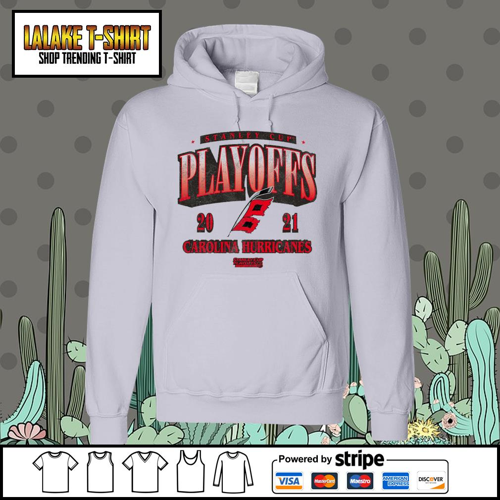 Carolina Hurricanes 2021 Stanley Cup Playoffs Bound Ring Hoodie