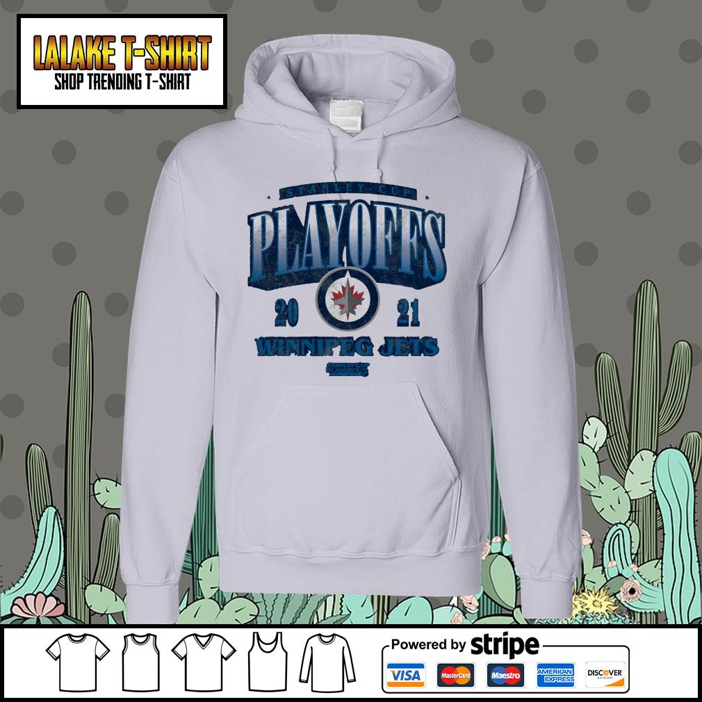 Winnipeg Jets 2021 Stanley Cup Playoffs Bound Ring the Alarm Tri-Blend Hoodie