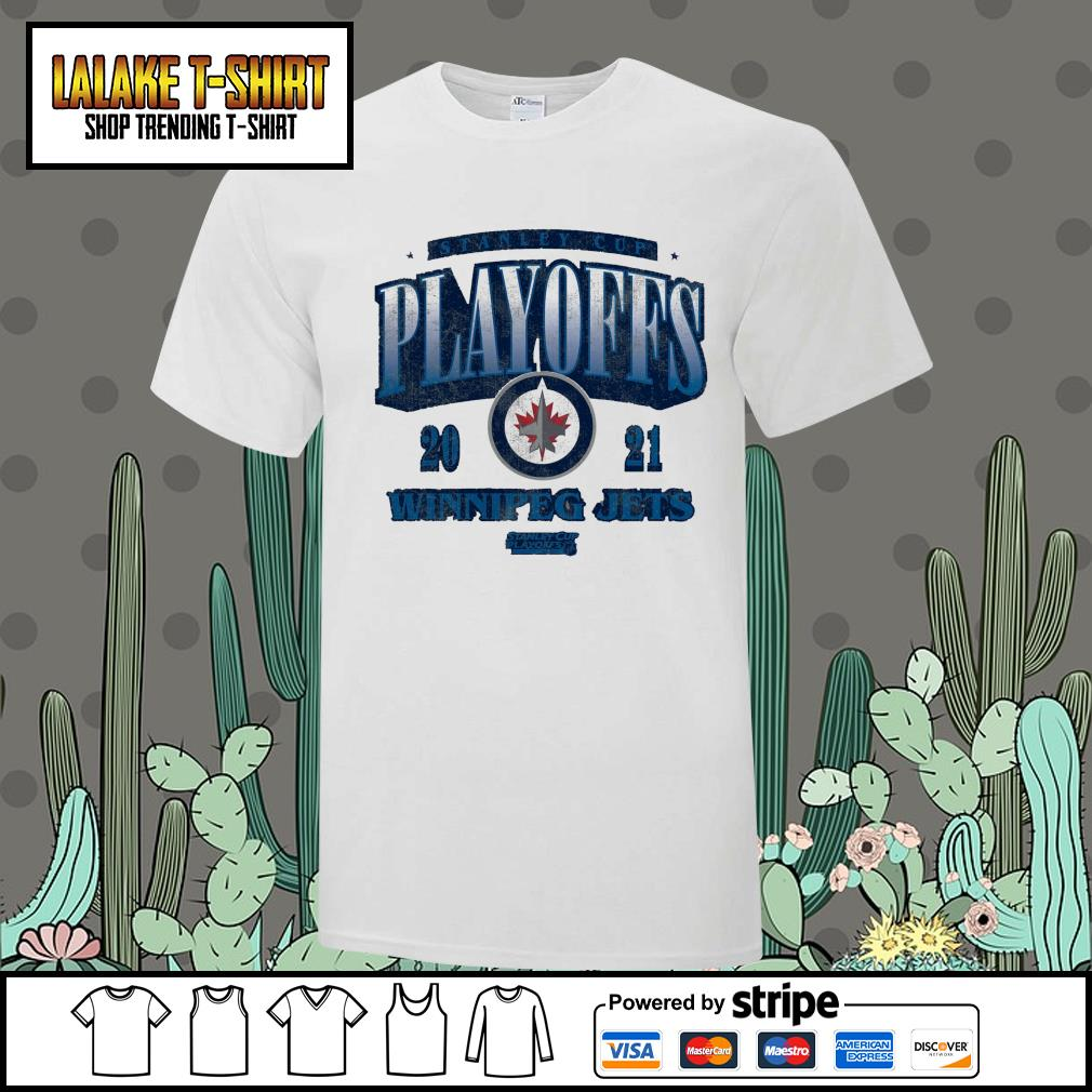 Winnipeg Jets 2021 Stanley Cup Playoffs Bound Ring the Alarm Tri-Blend shirt