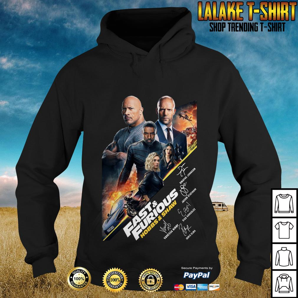 Fast And Furious Present Hobbs Shaw 2019 Hoodie