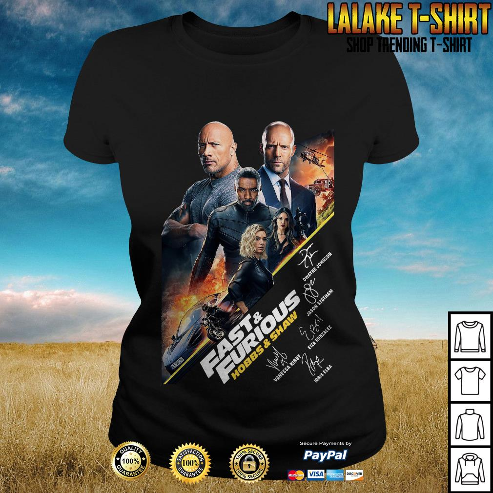 Fast And Furious Present Hobbs Shaw 2019 shirt
