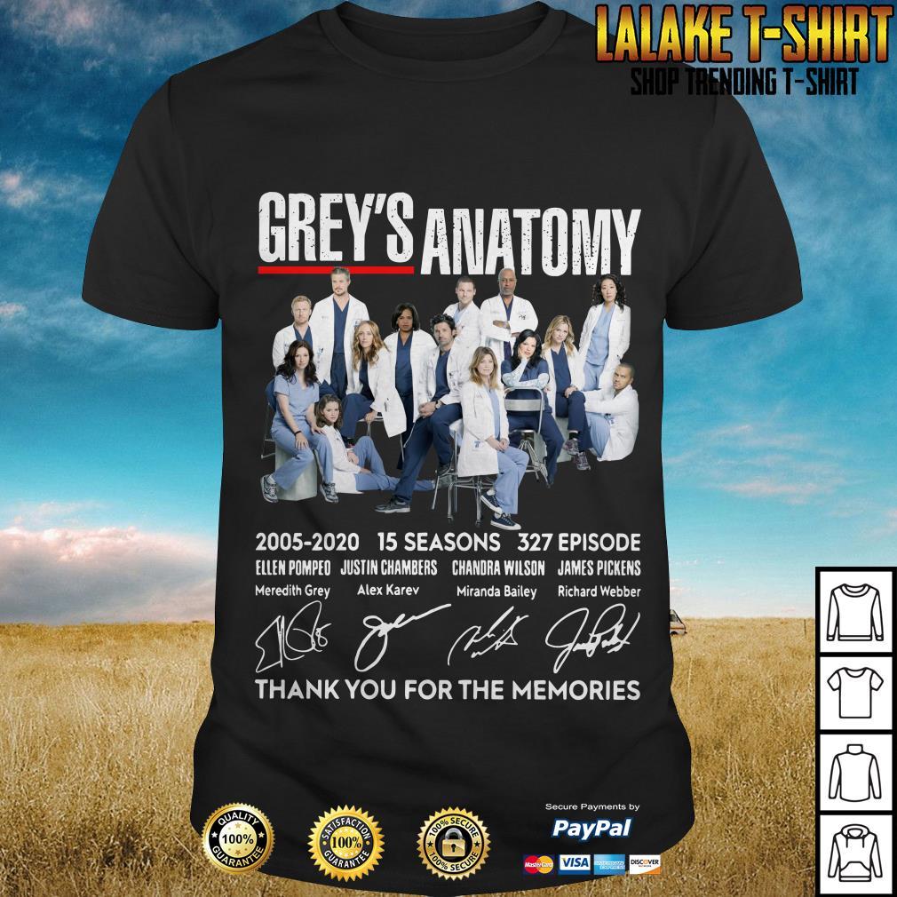 Greys Anatomy New Episode 2020 Grey's Anatomy 2005 2020 15 Seasons 327 Episode Thank You For The