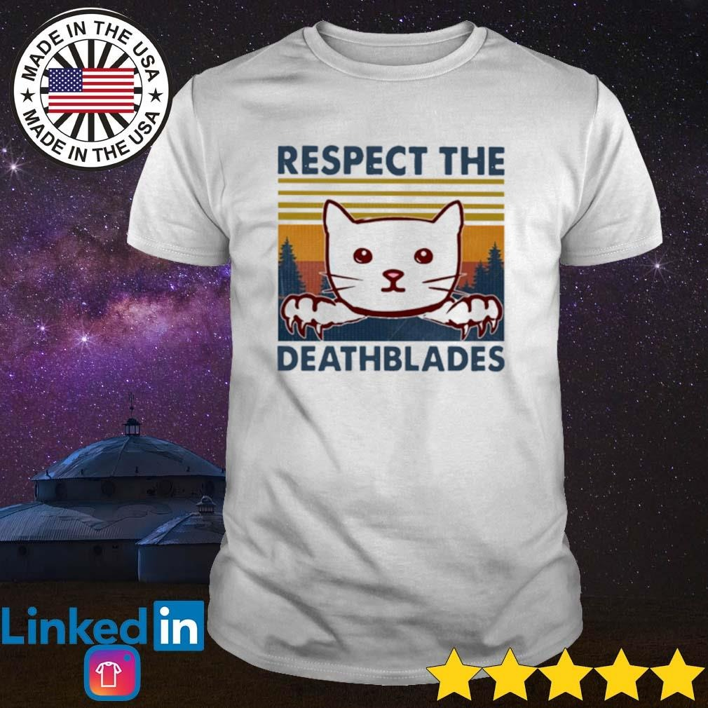 Vintage cat respect the Dreadblades shirt