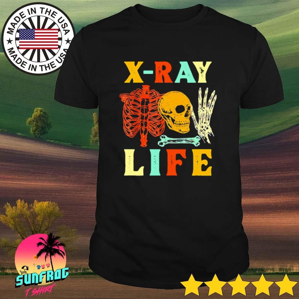 X-Ray life Skeleton shirt