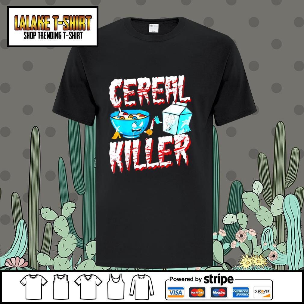 Cereal killer happy Halloween shirt