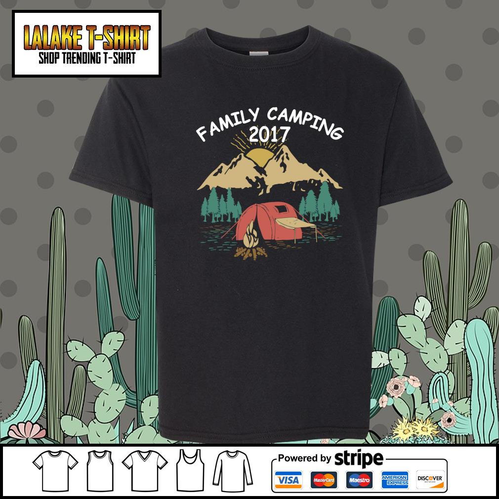 Family camping 2017 s youth-tee