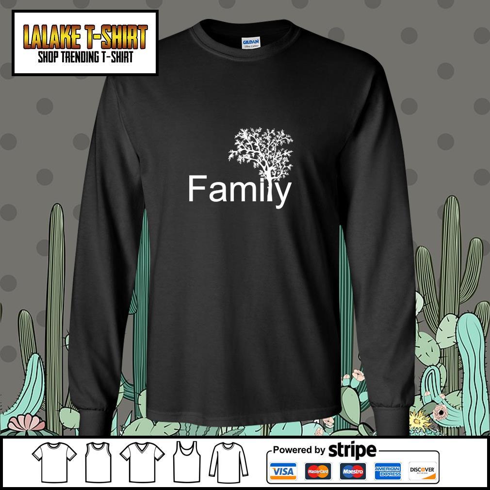 Family tree genealogy s longsleeve-tee