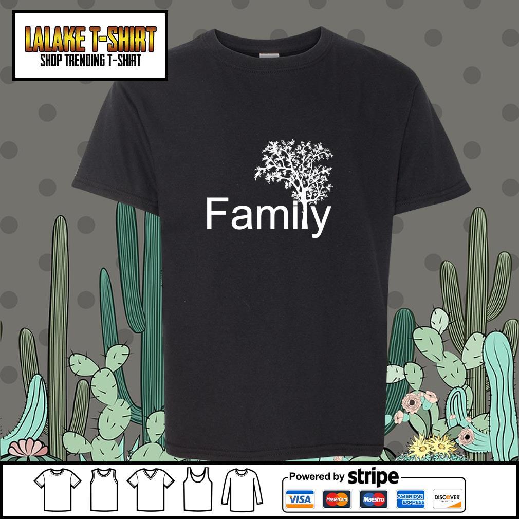 Family tree genealogy s youth-tee