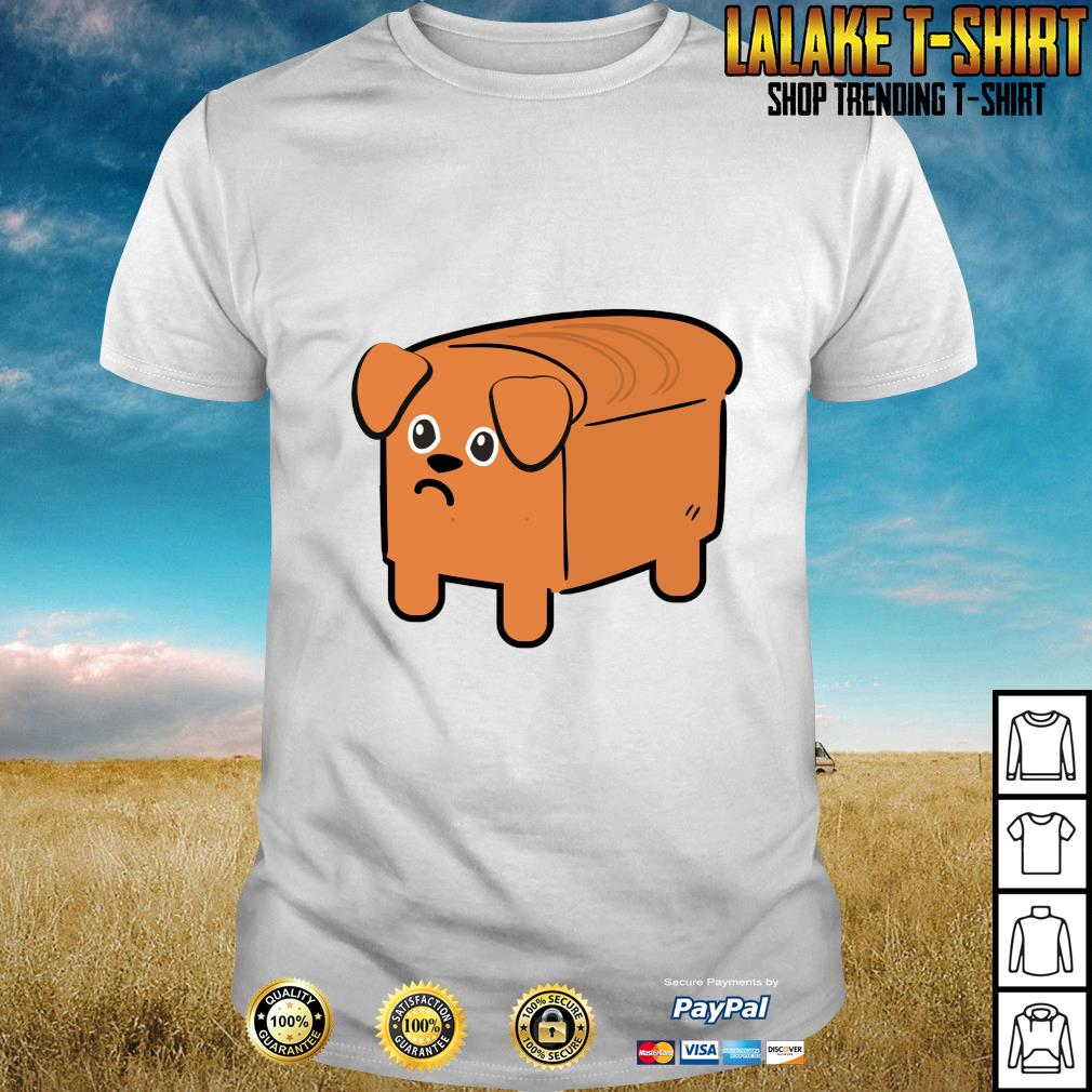 Milk bread dog cute shirt