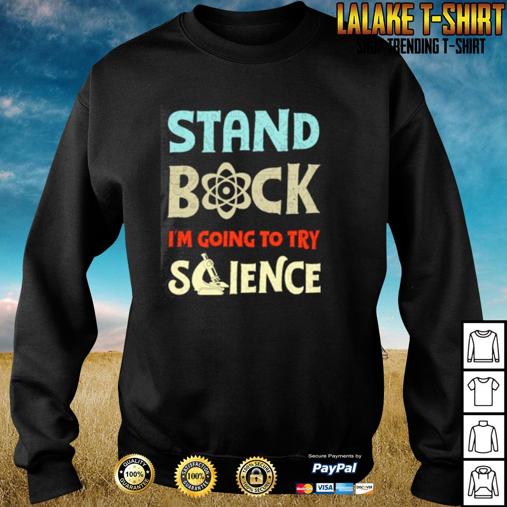 Stand back I'm going to try science s sweater