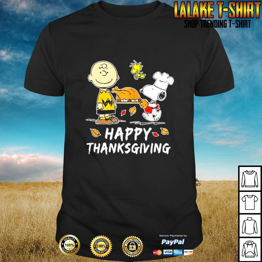 The peanut happy thanksgiving shirt