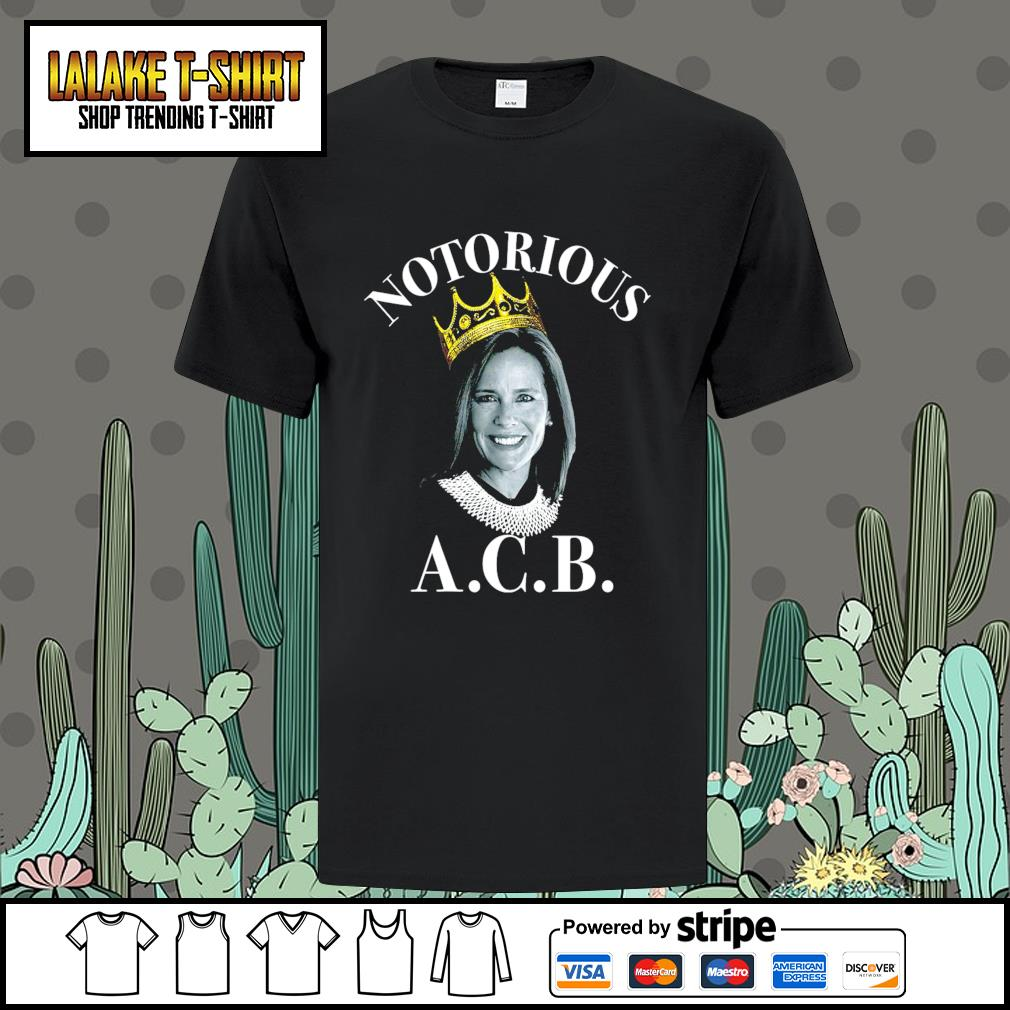 Notorious ACB Amy Coney Barrett shirt
