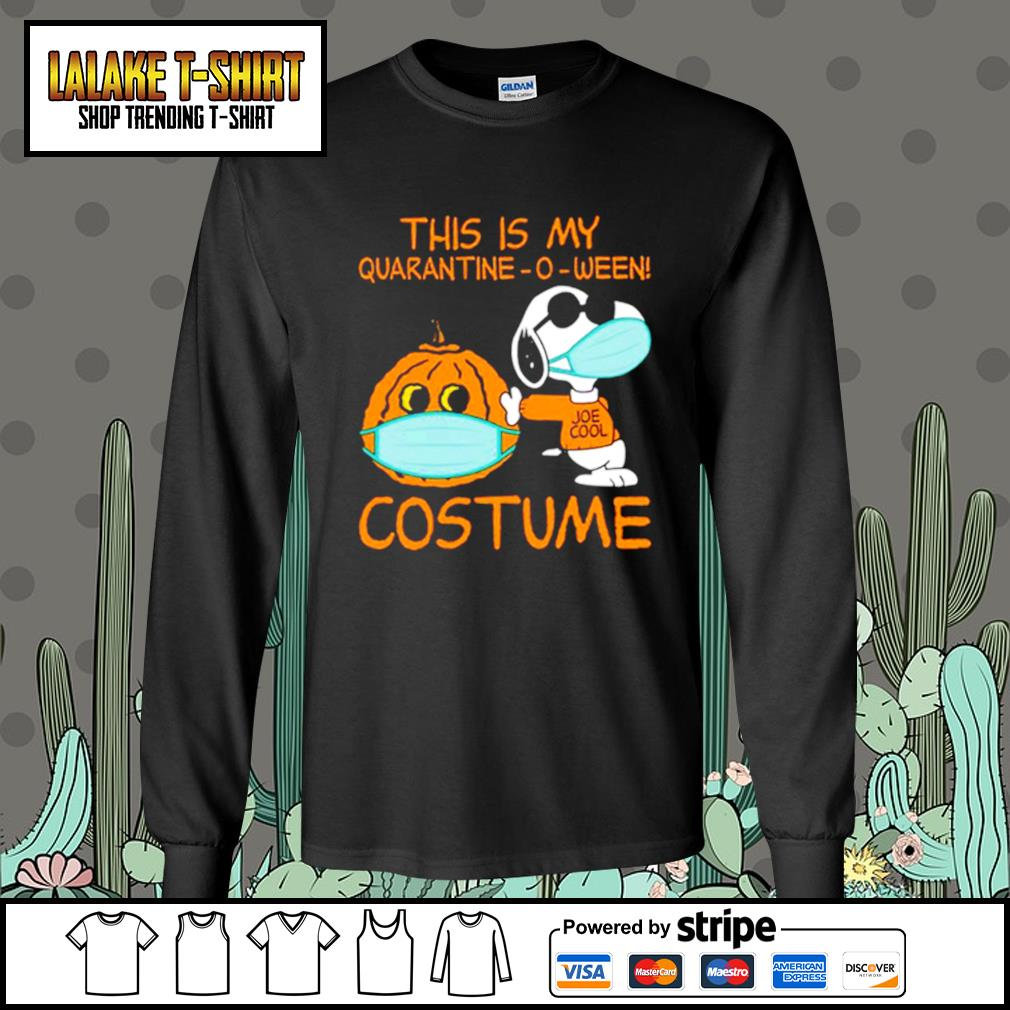 Snoopy This is my Quarantine -O-ween costume s Long-Sleeves-Tee