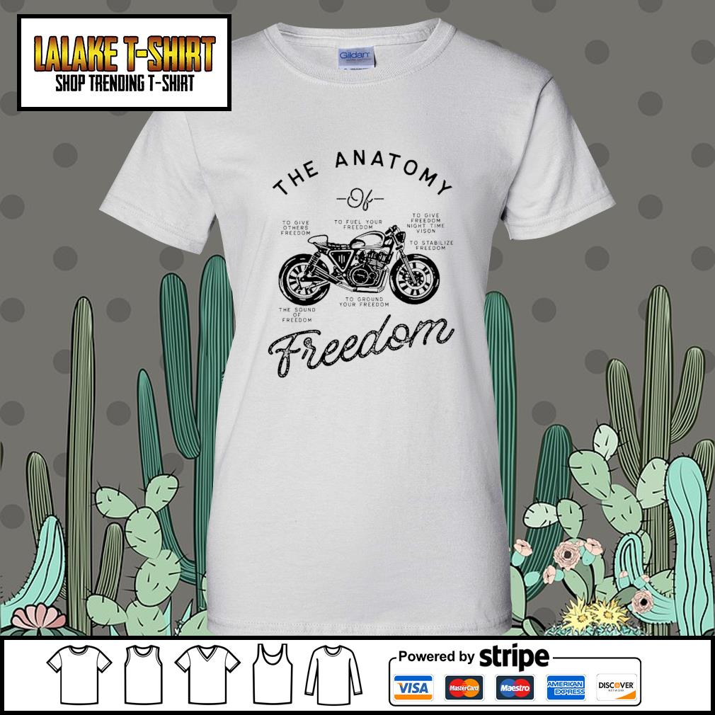 The Anatomy to give others freedom to fuel your freedom the sound of freedom s Ladies-Tee