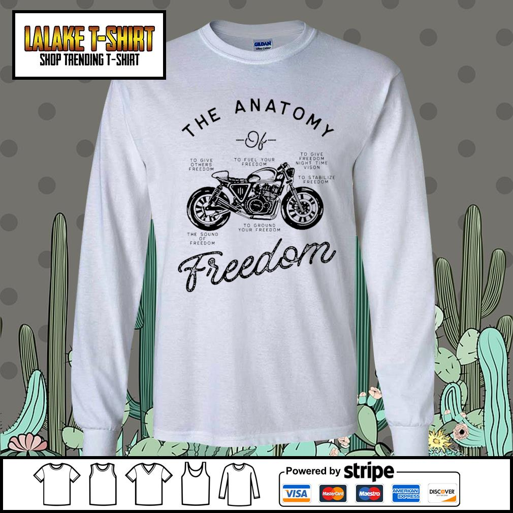 The Anatomy to give others freedom to fuel your freedom the sound of freedom s Long-Sleeves-Tee