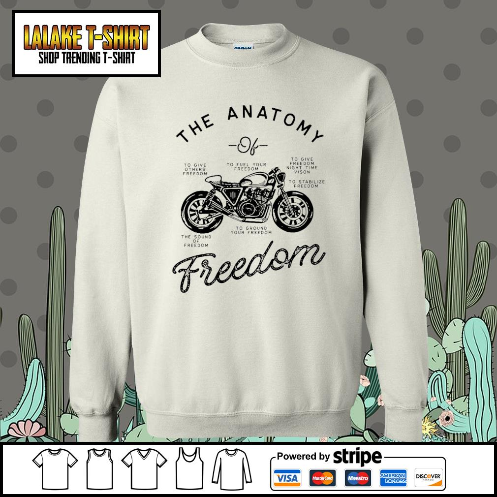 The Anatomy to give others freedom to fuel your freedom the sound of freedom s Sweater