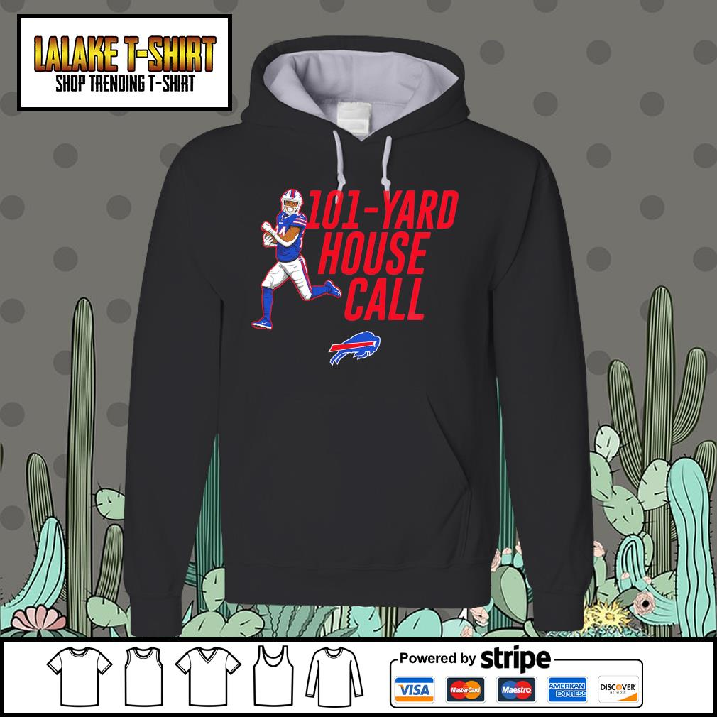 101 yard house call Taron Johnson Buffalo Bills s Hoodie